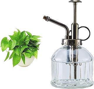 Weilianda Transparent Glass Plant Mister Spray Bottle, 6.3 Inch Retro Mini Kettle, Plant Accessories Garden Watering Pot, ...