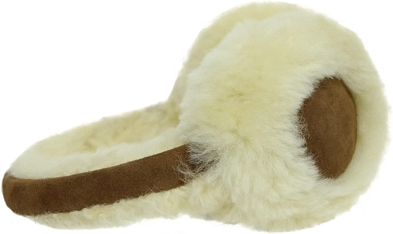 Hamptons Classic Unisex Genuine Sheepskin Ear Muffs