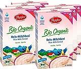 Töpfer Bio-Reis-Milchbrei Vanille, 6er Pack (6 x 200g)