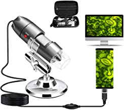 USB Microscope Camera 40X to 1000X, Cainda Digital Microscope with Metal Stand &..