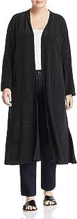 Eileen Fisher Womens Plus Tencel Printed Jacket