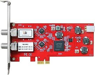 TBS DVB-S/S2 デュアルチューナーデジタルPCIe 衛星テレビカード ライブテレビIPTVサーバー用