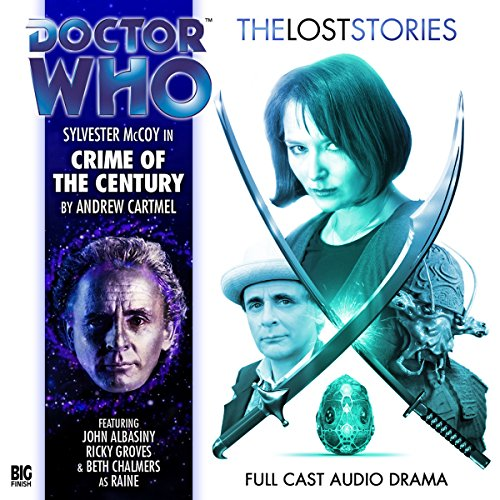 Doctor Who - The Lost Stories - Crime of the Century cover art