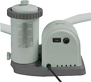 Intex 28636BS 1500 GPH 220 - 240 V Cartridge Filter Pump - Grey
