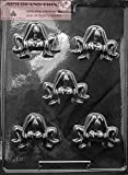 COUPLES Adult Chocolate Candy Mold with Copyrighted Molding Instructions -SET OF 2