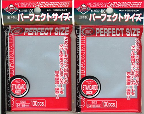 Perfect Fit Clear Card Sleeves 100ct. by KMC Sleeves