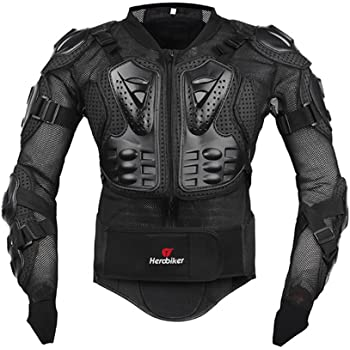 Off Road Bikes ATV Exxact Sports Motorcycle Full Upper Body Protection Skiing and Motocross Protective Jacket Medium