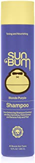Sun Bum Sun Bum Blonde Purple Shampoo I UV Protecting and Cruelty Free Color Enhancing and Toning Hair Wash for Blondes I ...