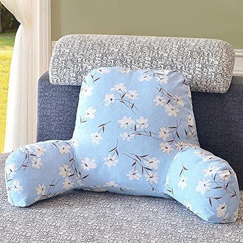 Smile Diary Cojín cálido Boho Cushion con reposabrazos Sofá Lumbar Silla de Respaldo Almohada(1,58x40x25cm)