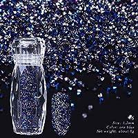 1ボトルピュア/ホログラフィックネイルジュエリーラインストーンガラスミニキャビアビーズマイクロ小さな宝石3Dキラキラネイルアートの装飾SA087 6