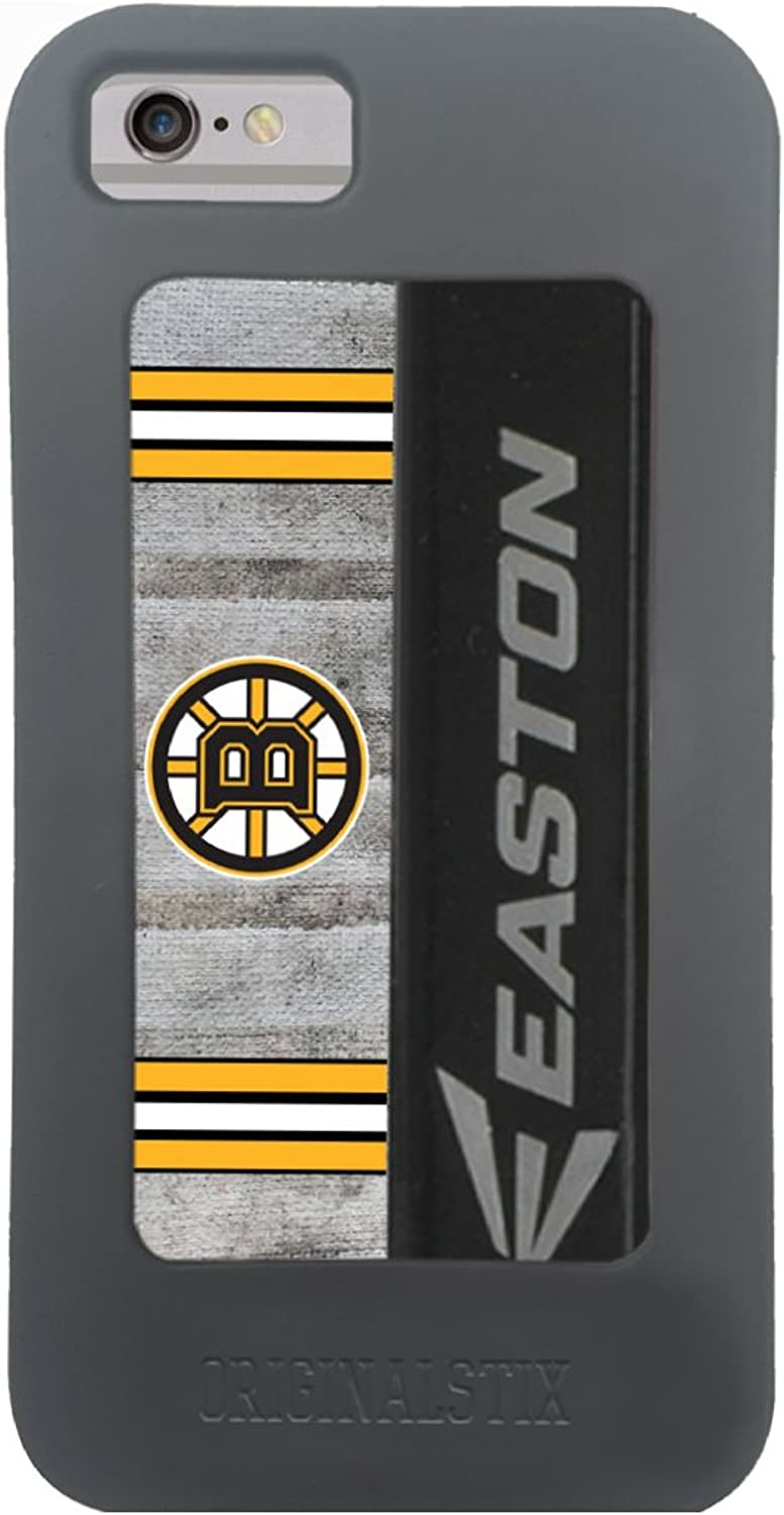 NHL Boston Bruins Recycled Hockey Stick iPhone 7 Case, Black