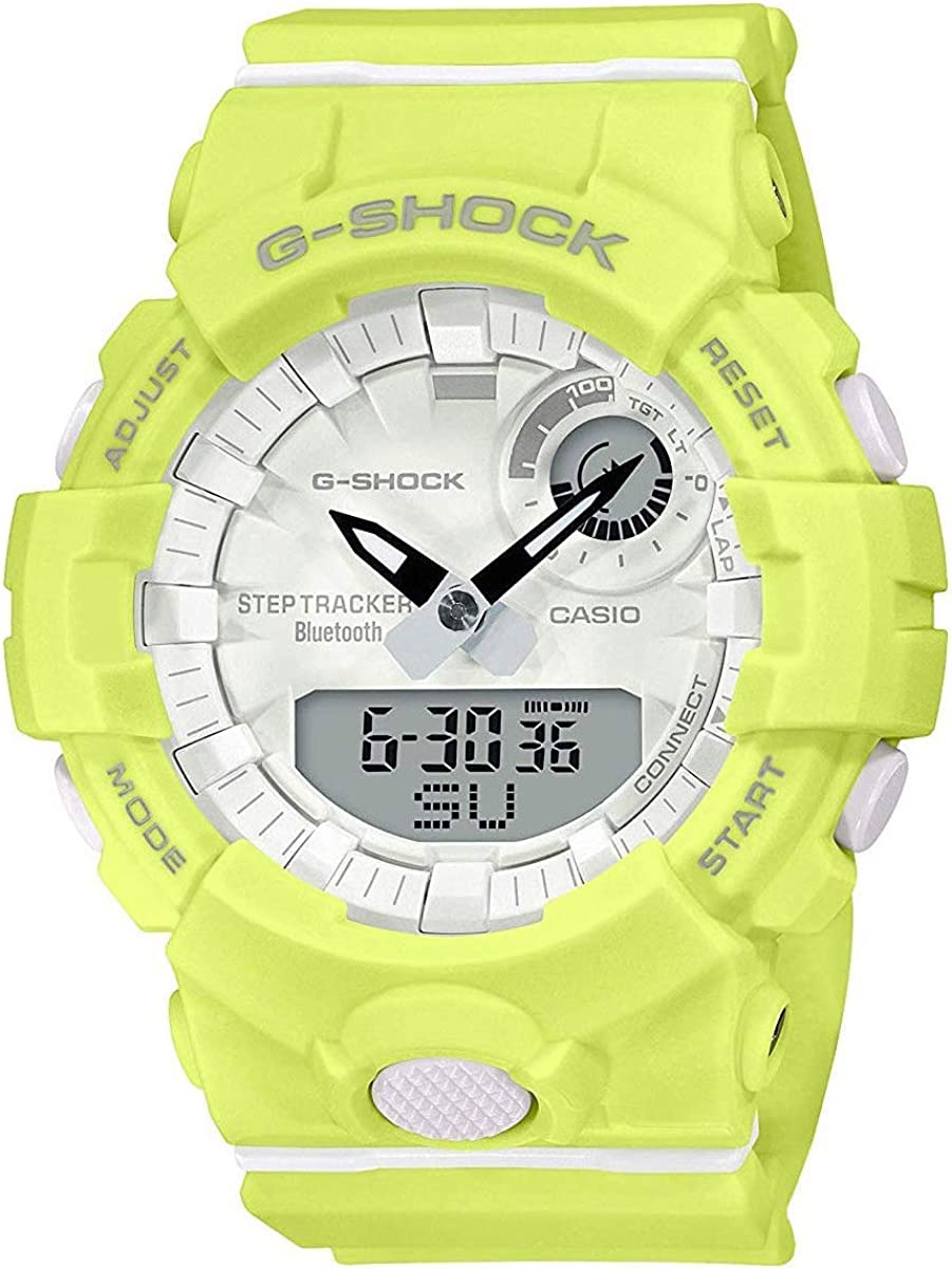 Casio G-Shock Ranking TOP1 G-Squad Lime Green Midsize Womens Bluetooth Minneapolis Mall Watch