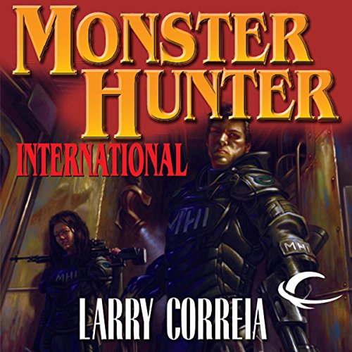 Monster Hunter International cover art