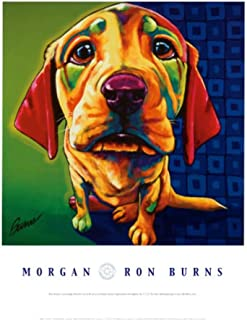 Morgan Art Print by Ron Burns 18 x 24in