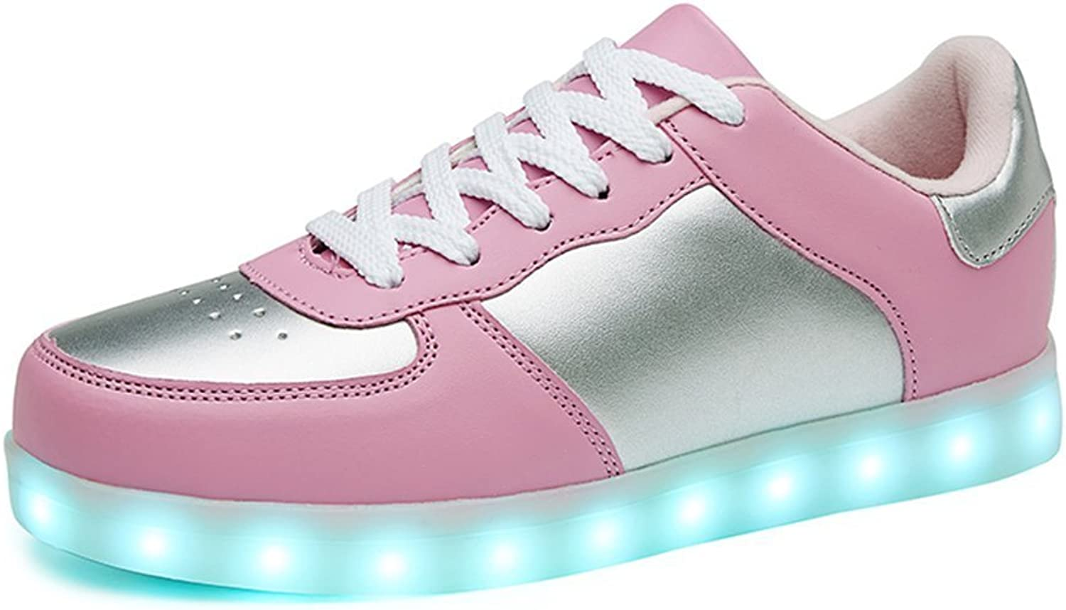 Led Light up shoes 11 colors Flashing Rechargeable Sneakers for Mens Womens Girls Boys