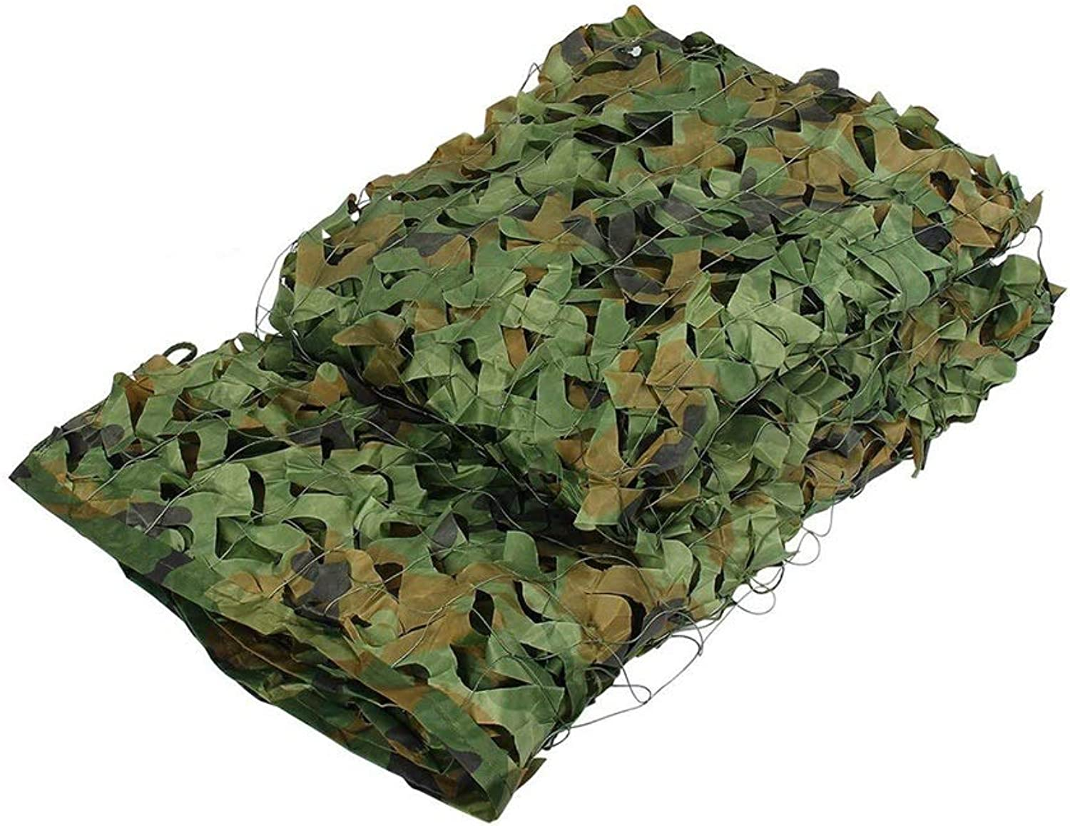 Jungle Camouflage Net for Outdoor Hidden Sunshade Shooting Military AntiUV Halloween Decoration (Size   10m20m)