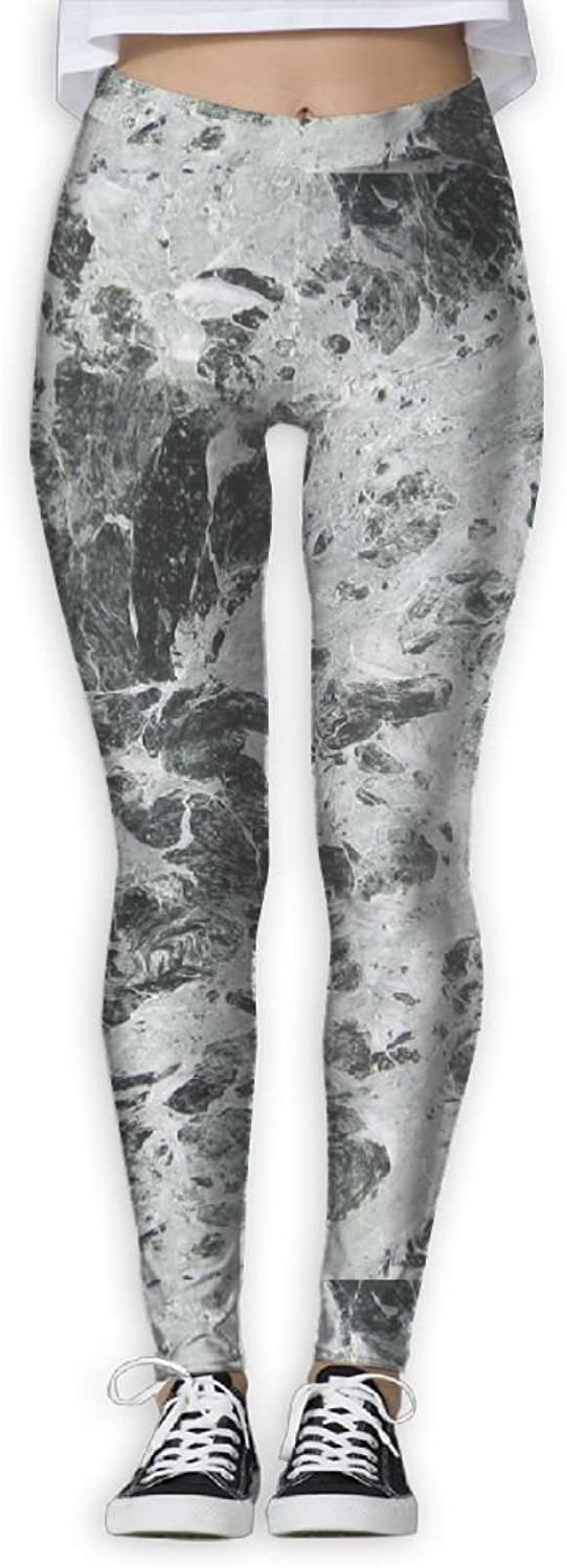 FINOHM Design Black Marble Provide Women with HighWaisted, Ultra Soft Lightweight Gym Yoga Leggings