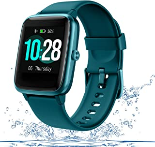 Men's Smart Watch Fitness Tracker for Women with Heart Rate Monitor Step Calorie Counter,Waterproof Sports Watch with Slee...