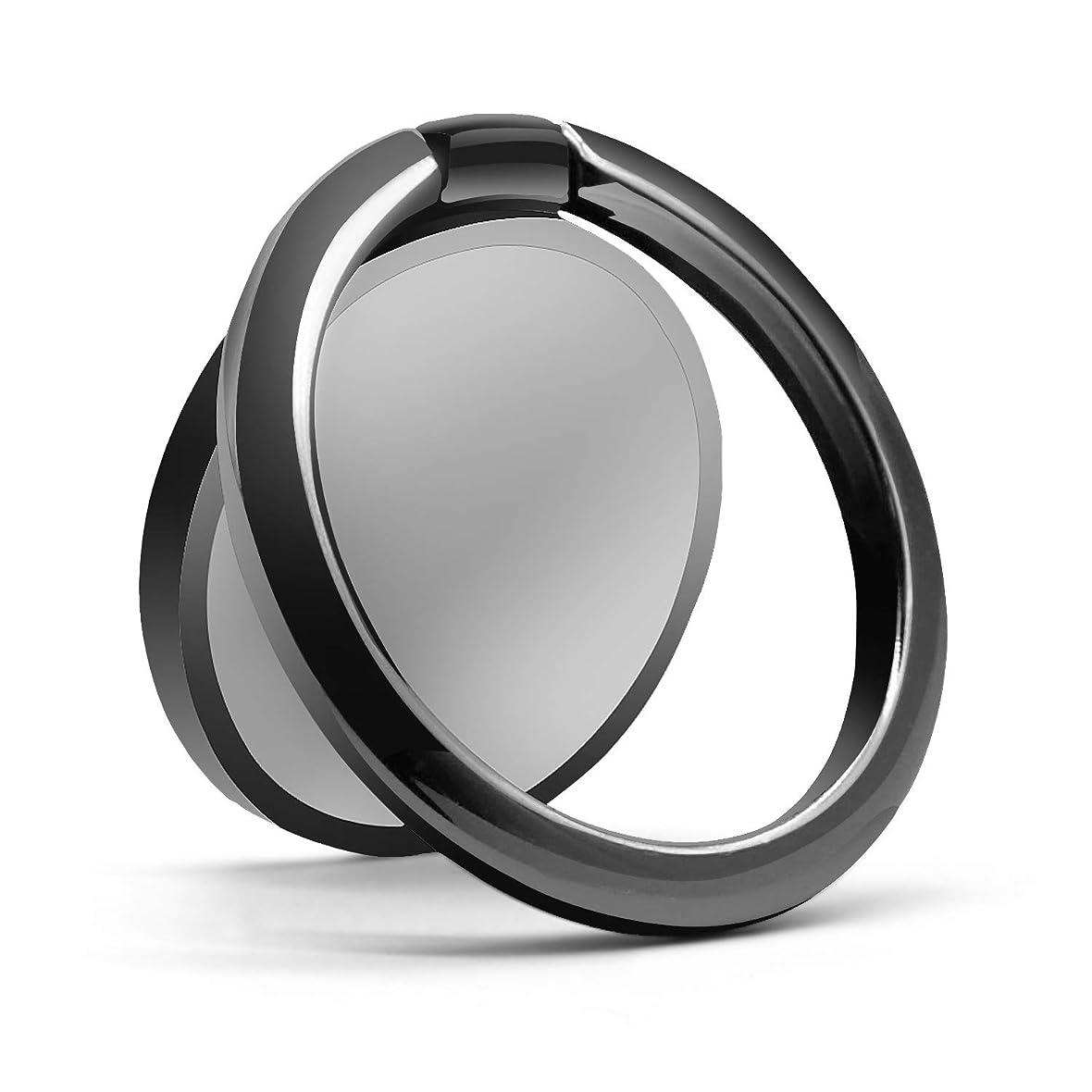 測定可能生産性名前スマホリング バンカーリング 3㎜薄型 ホールドリング 携帯リング 落下防止 車載ホルダー 360°回転 全機種対応 スマホスタンドリング iPhone Xperia Galaxy ARROWS HUAWEI
