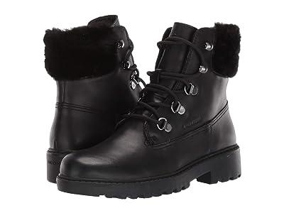 Geox Kids Jr Casey Waterproof 3 (Little Kid/Big Kid) (Black Oxford) Girls Shoes