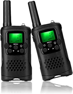 ieGeek Walkie Talkies for Kids, Toys for 3-12 Year Old Boys with 22 Channel 2 Way Radio Handheld Battery Powered,Kids Walk...