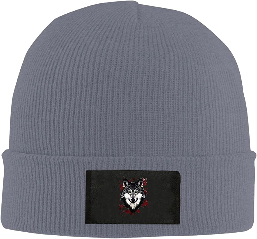 Runningway Cool Indian Wolf Knit Winter Beanie Hat Skull Cap Unisex