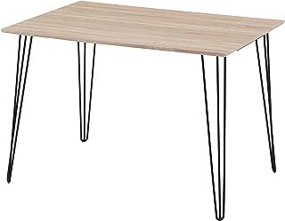 GOLDFAN Table à Manger en Bois Table Salon Rectangle Table de Cuisine Table de Salle à Manger 110x75x75cm
