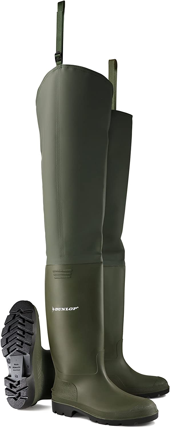 Dunlop Pricemastor Thigh Wader Boot, Without Steel Toe