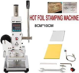 Control de temperatura digital Máquina de estampado en caliente 8 * 10 cm