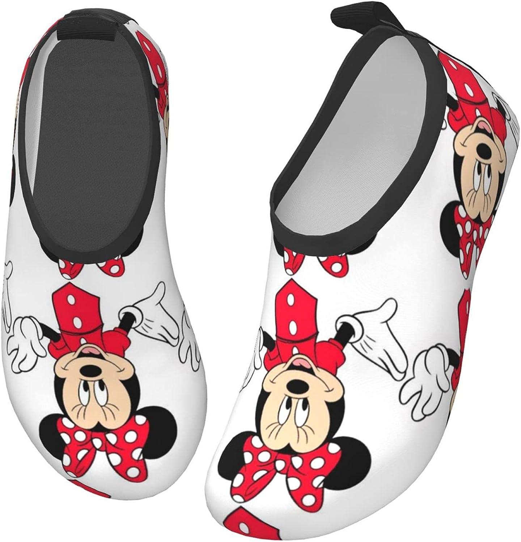 Mickey Mouse Toddler Kids Swim Water Shoes Non-Slip Quick Dry Barefoot Aqua Socks Beach Swimming Surf Walking for Boys Girls