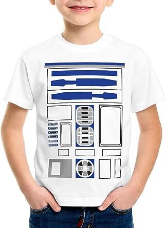 style3 R2 Unidad Camiseta para Niños T-Shirt astromecánico droide