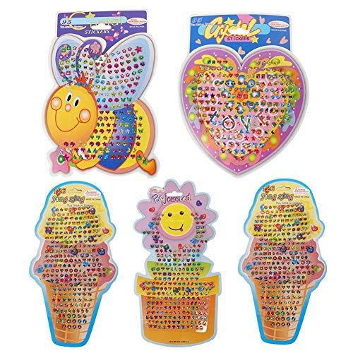 3D Children Cartoon Stickers Kindergarten Sun Flower Book Reward Style Decoration Creative Phone Random Stickers Stickers M K4O9