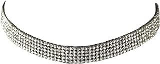 Choker Luxus Strass-Steinen Kropfband Kette