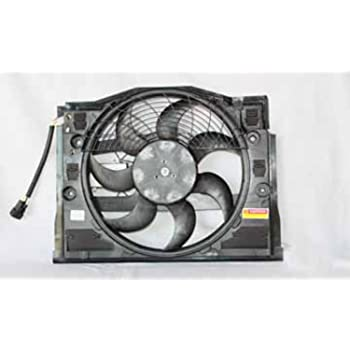 Radiator Cooling Fan Assembly For BMW E46 99-06 325i 328i 330Ci Xi Replace