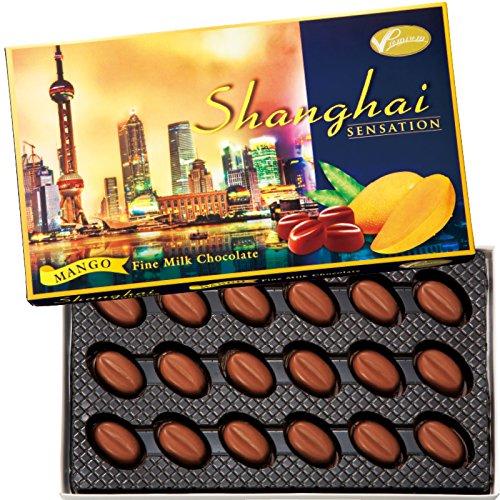 中国 土産 上海 マンゴーチョコレート 1箱 (海外旅行 中国 お土産)