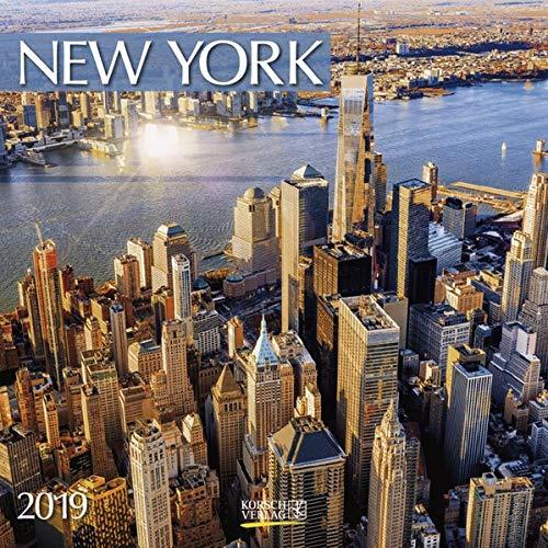 New York (BK) 228619 2019: Broschürenkalender mit Ferienterminen. Format: 30 x 30 cm