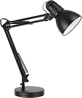 Amazon Com Globe Electric 52098 Simple Desk Lamp Matte Brass Home