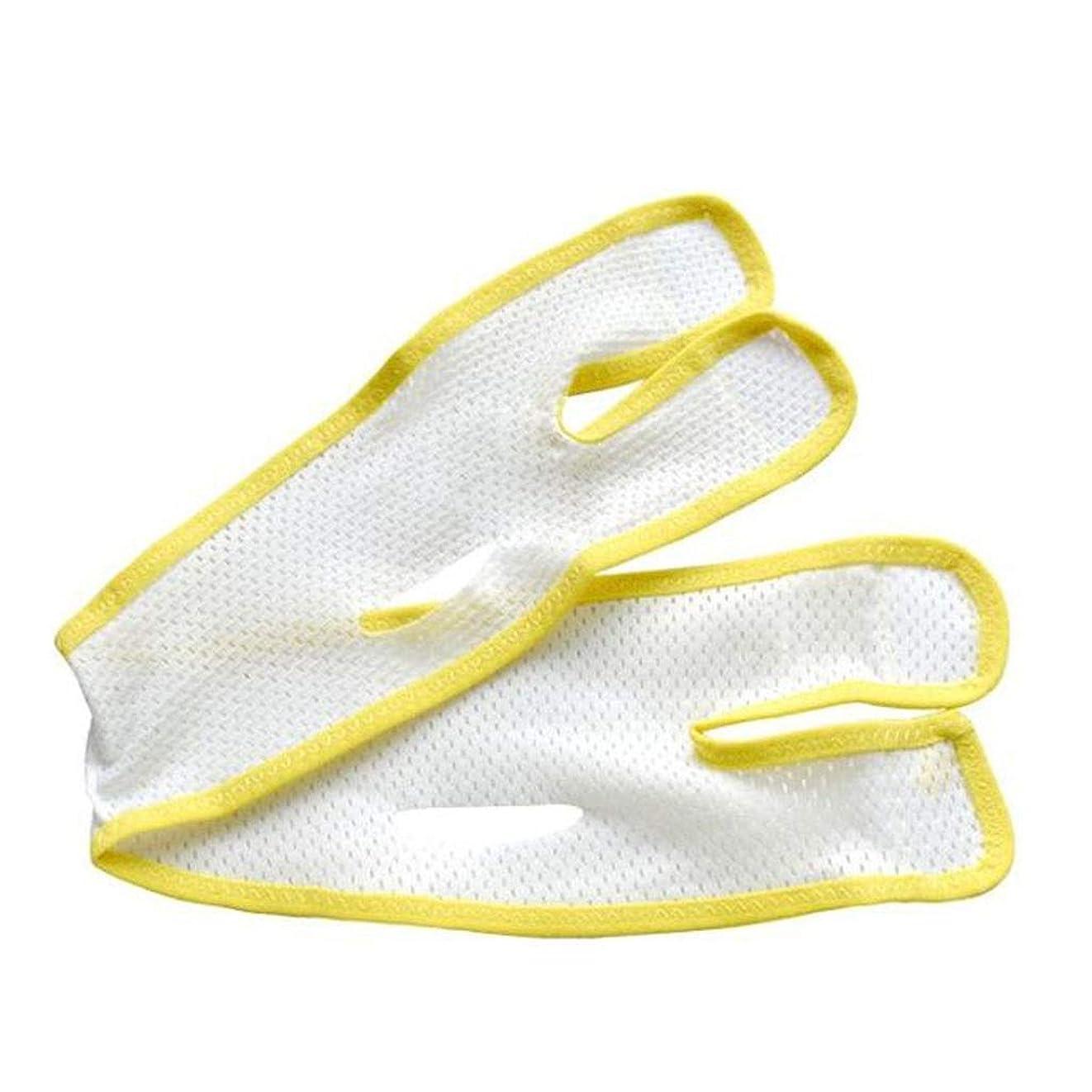衰えるすずめ創傷通気性フェイスマスク - Vフェイスアーティファクト - 二重あご包帯を引き締める引き締め