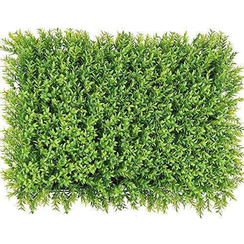 Piante artificiali per recinzione privacy, siepe da giardino, decorazione da appendere alla parete, 40 x 60 cm (colore: C, dimensioni: 40 x 60 cm), B, 40 x 60 cm