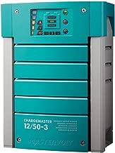 MasterVolt 44010500 ChargeMaster Battery Charger, 12V 50A, 3 Banks