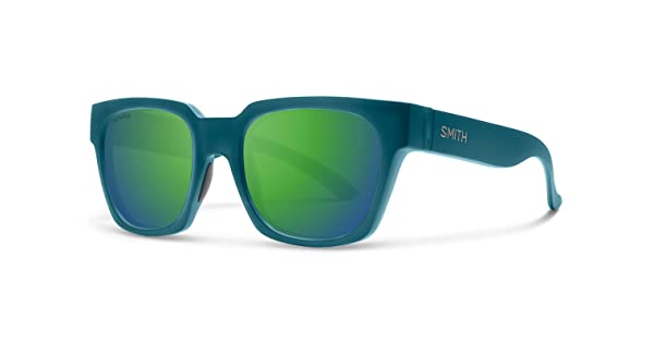 Smith Comstock ChromaPop Sunglasses Matte Crystal Deep Forest Chromapop Sun Green Mirror Smith Optics