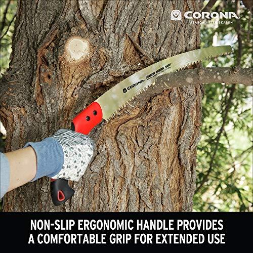 Corona RS 7395 RazorTOOTH Pruning Saw, 14-Inch, Red/Black
