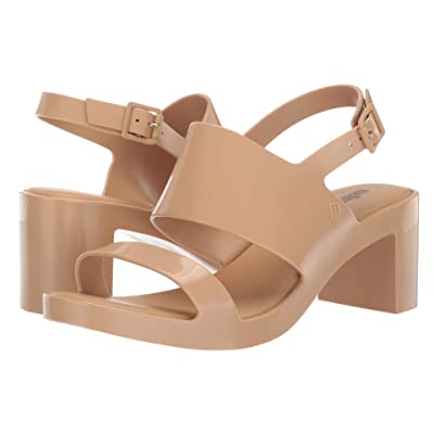 Melissa Shoes Classy High (Beige Gilded) Women