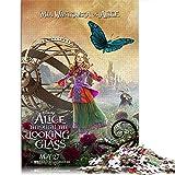 Alice in Wonderland 1000 Piezas de Rompecabezas de Regalo para Adultos Alice Kingsley 1000 Piezas de Rompecabezas para Adultos Adolescentes Juguetes de Bricolaje 29.5'x19.6