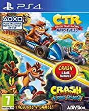 Activision Crash Team Racing and Crash Bandicoot Game Bundle (PS4)