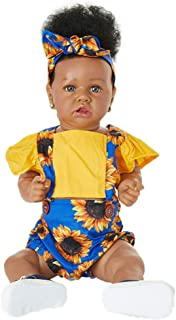 Reborn Baby Dolls Indian African Silicone Soft Body Fashion Reborn Toddlers For Kids Christmas Gift Best Playmates