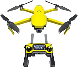 DJI Mavic 贴花套件 - 包括 1 个无人机/电池皮肤 + 控制器皮肤 Solid State Yellow Mavic 2/Zoom DJIM2-SS-YEL
