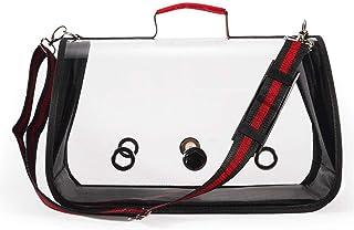 Bird Travel Cage PVC Transparent Bird Cage Breathable Convenient Carry Parrot Handbag Pet Supplies