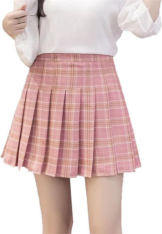 N\C Damen Röcke Plissee A-Linie Minirock