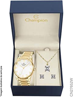 Relógio Champion Analógio CN27652W Feminino + Semijóia